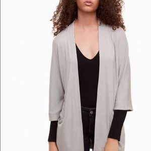 COPY - Aritzia Wilfred zlata cardigan